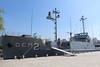 USS Pueblo at the War Museum, Pyongyang (Timon91) Tags: democratic people republic korea north northkorea dprk noordkorea nordkorea 조선민주주의인민공화국 pyongyang 평양 juche chosun communism dictatorship dictator koryo