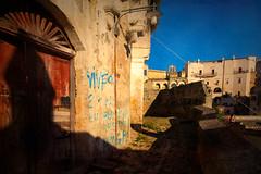 Matera corner (mirsavio) Tags: italy matera basilicata morning shadows light