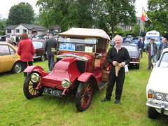 """""""Made in Scotland"""".. Vintage Arrol Johnston Motorcar at the Moffat Classic Weekend 2011. (Yesteryear-Automotive) Tags: arrol johnston motorcar car automobile moffat scotland"""