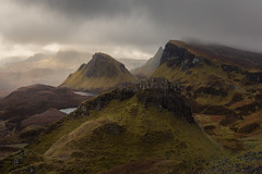 The Land Before Time (Andrew G Robertson) Tags: quiraing isle skye scotland trotternish mist hebrides ridge mountain epic