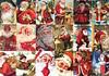 Vintage Santa's Jigsaw Puzzle (2000 pcs) (ZomZorrow) Tags: jigsaw puzzle vintage santa clause alison lee 2000 pieces cardboard jumbo merry christmas gift season greeting red joy holiday giving happy