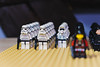 stormtroopers and scouts (admiral corvus) Tags: lego star wars collection empire imperium galactic universe building blocks moc tie fighter speederbikes 7128