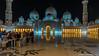 Abu Dhabi, United Arab Emirates: Courtyard perimeter of Sheikh Zayed Mosque (nabobswims) Tags: ae abudhabi hdr highdynamicrange ilce6000 lightroom nabob nabobswims nightfoto photomatix reflection sel1018 sheikhzayedmosque sonya6000 uae unitedarabemirates