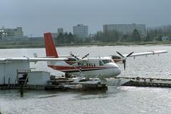 C-GIAW De Havilland Canada DHC-6 Twin Otter 100 (pslg05896) Tags: cgiaw dehavillandcanada dhc6 twinotter yvr cyvr vancouver