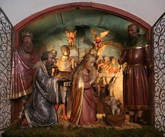 Krippe im Augsburger Dom (Wolfgang Bazer) Tags: krippe weihnachtskrippe nativity scene crèche augsburger dom cathedral augsburg schwaben swabia bayern bavaria deutschland germany paulus mair