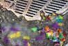 Party on a frozen planet (Travels with Kathleen) Tags: newyork winter confetti newyears timessquare ice frozen manhole street