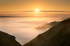 Winnats Pass Dawn (shaun walby photography) Tags: peakdistrictwinnatspass dawn winnats pass castleton light clouds inversion england uk shaun walby photography mist fog landscape colour peakdistrict shaunwalbyphotography winnatspass