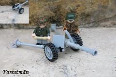 LEGO PAW 600 (Forestmän) Tags: lego ww2 wwi paw 600 cannon german custom war gun