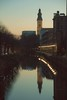 Gent (Dario de Falco) Tags: gent belgio travel sunset river canale riflesso mirror water