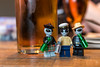 Having a drink with friends (Ballou34) Tags: 2017 7dmark2 7dmarkii 7d2 7dii afol ballou34 canon canon7dmarkii canon7dii eos eos7dmarkii eos7d2 eos7dii flickr lego legographer legography minifigures photography stuckinplastic toy toyphotography toys stuck in plastic alien gang drink beer scotish scotland bootle hat édimbourg royaumeuni gb edinburgh