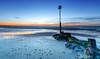 Low Tide Gold (nicklucas2) Tags: seascape beach needles isleofwight sea seaside solent wave avonbeach sunrise