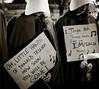 Handmaid Carols (vpickering) Tags: handmaids demonstrations handmaid demonstration protest protesting