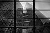look through the window (heinzkren) Tags: scharzweis blackandwhite bw monochrome building gebäude wien vienna tower twintower wienerberg panasonic lumix architecture lines linien fassade facade fenster spiegelung reflektion reflection