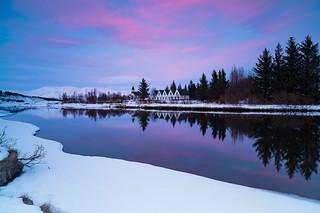 Winter in Thingvellir