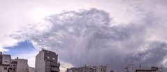 Another storm is born (Wal Wsg) Tags: another storm is born anotherstormisborn naceotratormenta tormenta cielo sky panoramic panoramica dia day nubes clouds argentina argentinabsas buenosaires caba villacrespo capitalfederal ciudadautonoma ciudaddebuenosaires canoneosrebelt3 phwalwsg
