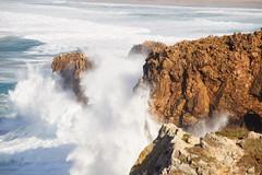 Portugal - Costa Vicentiana (landeicgn) Tags: waves olas wellen meer sea mar felsen klippen clifs rocks sturm tempest storm