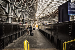 Paddington 2 (PAJ880) Tags: paddington london uk railway station train shed victorian architecture ramp passengers gwr