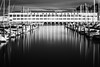 Fort Mason Center - San Francisco, CA (Aaron Sesker) Tags: 6d fortmason achromatic architecture blackandwhite boat boats building ca california canon dock dramatic greyscale infrared ir monochrome reflection reflections sanfrancisco sf slowshutter water