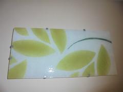 263 (en-ri) Tags: lampada vetro verde bianco foglie leaves sony sonysti