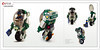 Raptor series: Cargo Delivery (Brixnspace) Tags: raptor walker frame powersuit suit lego moc toy biped space bot system cargo delivery service monowheel unicycle