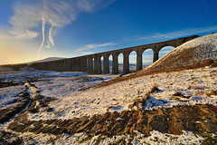 The arrival of winter (images@twiston) Tags: winter path whernside 24arches dawn golden hour morning ribblehead viaduct ribbleheadviaduct arches blue sky white cloud settle carlisle settlecarlisle yorkshire northyorkshire midland railway main line 1875 battymoss battywifehole sebastopol belgravia jericho scheduledancientmonument arch ribblesdale dales 3peaks yorkshire3peaks ingleborough parkfell simonfell track national park yorkshiredalesnationalpark moorland moor landscape fells manmade stonework shadow shadows sweeping curve curved imagestwiston godsowncountry snow snowy sunrise architecture nofilters nikon14mmf28 nikkor14mmf28 nikonafnikkor14mmf28d 14mm ultrawide superultrawide ultraultrawide ultra wideangle wide angle