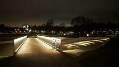 2017 Bike 180: Day 285, December 20 (olmofin) Tags: 2017bike180 finland espoo tapiola bicycle polkupyörä silta bridge lumix 14mm f25 pyörätie path pyörätiesilta