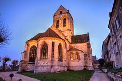 Eglise Auvers sur Oise - made famous by Van Gogh (tintinetmilou) Tags: paris2017 gordgallagher paris auvers sur oise vincent van gogh