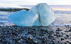 Ice crystals on Diamond Beach (gourab66) Tags: diamondbeach icecrystal travel iceland europe jökulsárlón nikon nikond810 nikon160350mmf40 atlantic ocean arctic waterscape seascape
