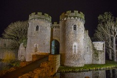 Whittington Castle (foto.pro) Tags: whittington castle night dark sky christmas december shropshire