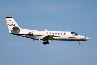 U.S. Army Cessna Citation, #60107,