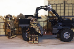 Recon Loadup (LegoInTheWild) Tags: moc afol lego brickmania military brickarms utv