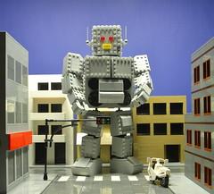 Intergalactic (Cpt. Brick) Tags: lego beastieboys intergalactic giantrobot robot musicvideo