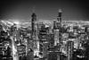 Man Sends the Ray of the Electric Light (Thomas Hawk) Tags: america chitown chicago illinois johnhancockcenter signatureroom the95th thesignatureroom usa unitedstates unitedstatesofamerica architecture night skyscraper us fav10 fav25 fav50 fav100