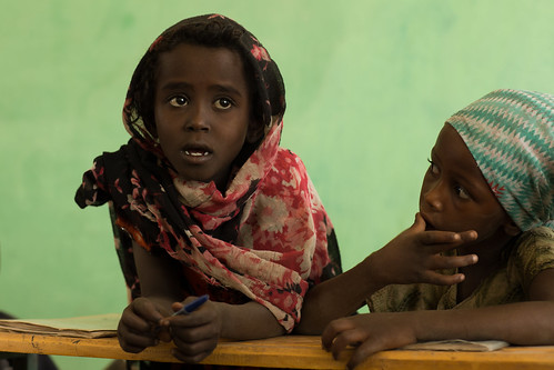 Fatuma Ibrahim, 10 , Grade 4 student at Abdu Hassen Alternative Basic Education Centre