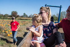 Boyert's Hayride & Pumpkin Patch (meganleebuchanan) Tags: people family lifestyle ohio travel tourism fall hay hayride farm greenhouse apples pumpkin outdoors explore tractor medina