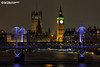 Big Ben QE2 Tower and Parliament (Nigel Blake, 15 MILLION views! Many thanks!) Tags: london cityscape city night nighttime dark evening 2017 lights offices appartments thethames thames river bigben qe2tower parliament