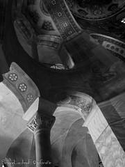 Verso il cielo - San Vitale (frillicca) Tags: 2017 abside april aprile bn bw basilica basilicadisanvitale biancoenero blackandwhite chiesa church inside italia italy matroneo monochrome monocromo panasoniclumixlx100 ravenna sanvitale sanvitalecathedral interno