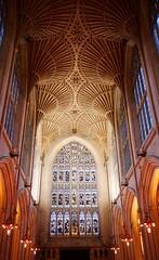Bath Abbey murals (dksesh) Tags: seshadri dhanakoti harita panasonic dmcg6 g6 bathspa sesh seshfamily haritasya hevilambisamvatsara panasonicdmcg6 panasonicg6 cityofbath romantownofbath ccgdec2017 abbey christianity church murals