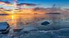 Winter sunset at Pampskatan - Talvinen auringonlasku Pampskatanilla (Olli_Pihlajamaa) Tags: sunset dawn twilight winter sea ice water finland porkkalanniemi kirkkonummi auringonlasku talvi vesi jää meri