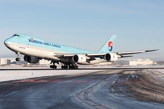 Korean Air Cargo Boeing 747-8F HL7609