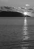 Lerici sunset 02 (- Crupi Giorgio (official)) Tags: italy liguria laspezia lerici seascape landscape monochrome blackwhite bw sea sky sun sunset mountain canon canoneos7d canon70300mm