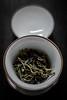 Young Gushu 2017 (mkniebes) Tags: tea puerh chinesetea gaiwan white breakfast dof gushu dry leaf