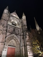 2017-11-17 Basilique Saint Michel 001 (GaelV8) Tags: bordeaux aquitaine france fr gironde nuit night bâtiment architecture église church cathédrale basilique