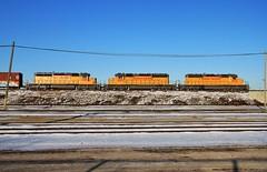 Triple Kill (BravoDelta1999) Tags: unionpacific up railroad chicagoandnorthwestern cnw railway newline milwaukeesubdivision bensenville illinois emd sd40n 1972 2007 1885 mprpr manifest train