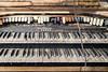 Trinity AME Zion - Organ (AP Imagery) Tags: organ urbex decay church ivory ky trinity keys forgotten piano demolished razed abandoned historic henderson kentucky zion ame usa
