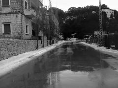 Après le verglas (Gilbert-Noël Sfeir Mont-Liban) Tags: verglas ice kesserwan schnee neige snow montliban liban mountlebanon lebanon winter hiver strase route road path outdoors building