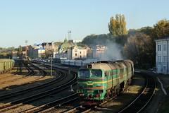 2M62 0343 leaving Chernivtsi (berlinger) Tags: chernivtsiчернівці chernivetskaoblast ukraine 2m62 ukrainianrailways uz укрзалізниця ukrzaliznytsia train railways czernowitz