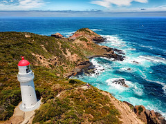 The whole Schanck (Pat Charles) Tags: capeschanck morningtonpeninsula flinders redhill shoreham melbourne victoria australia drone lighthouse coast ocean bassstrait sea water beach waves rocks dji au 1001nights 1001nightsmagiccity