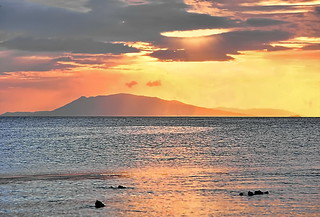 Sunrise over the Bay of Manila