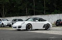997 Speedster (Andre.Siloto) Tags: porsche 911 9972 997 mkii mk2 mark ii markii mark2 2 speedster white branco ctbaexotics club 2017 nikon d3200 exotic car